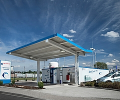 Hydrogen refueling station by Air Liquide